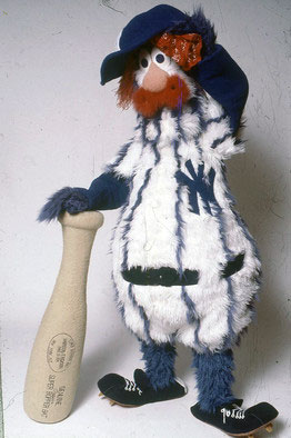 """Dandy"", the short-lived mascot of the New York Yankees (Photo: Wayde Harrison)"