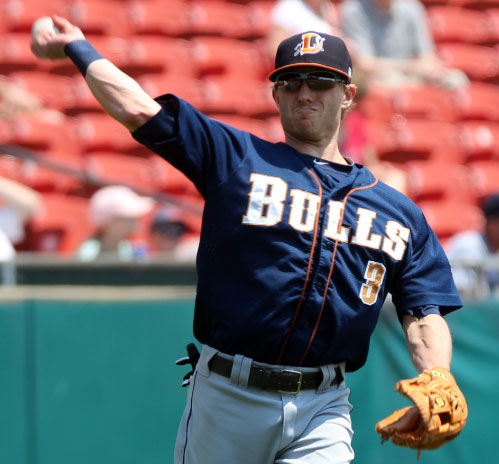 Durham Bulls Road Uniform 2013
