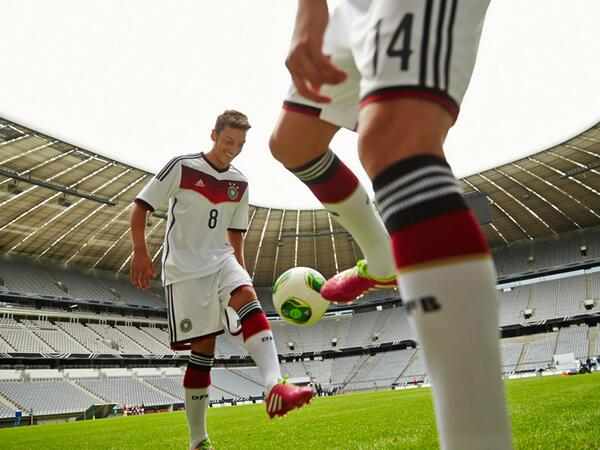 Germany to Wear All-White Kits at World Cup 2014