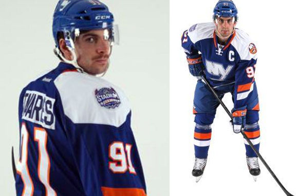 Islanders John Tavares Stadium Series Uniform