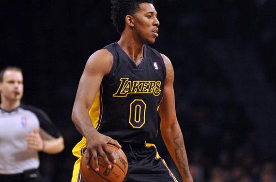 Pics: LA Lakers Debut Black Alternate Uniforms – SportsLogos.Net News
