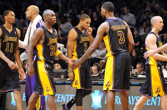 Lakers Black Uniforms