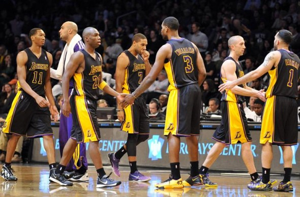 Lakers Hollywood Nights Black Uniform 3