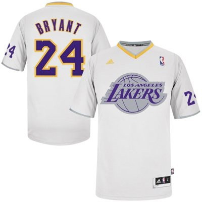 474ed3a24 Los Angeles Lakers Sleeved Big Logo Christmas Jersey 2013