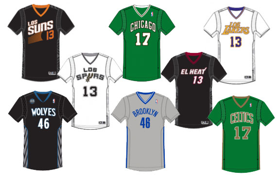 Ten Additional Sleeved NBA Jerseys Leaked! | Chris Creamer\u0026#39;s