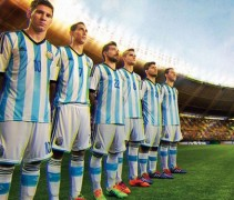 New Argentina 2014 World Cup Uniforms