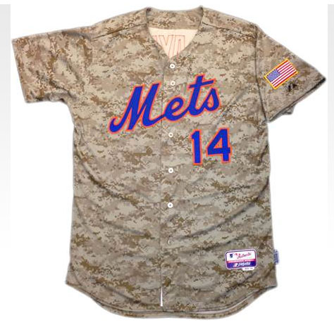 New York Mets Camouflage Jersey 2014