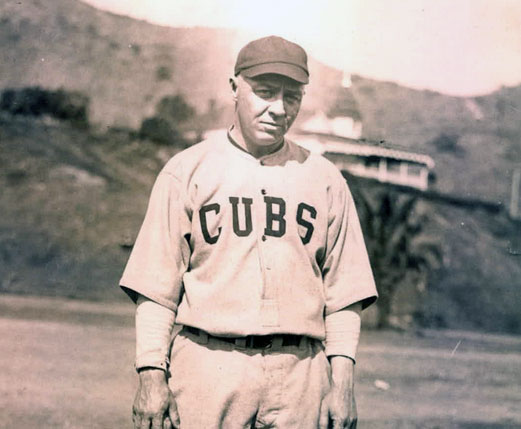 Oscar Dugey 1922 Chicago Cubs Uniform