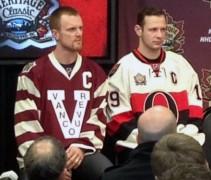 Ottawa Vancouver Heritage Classic Jerseys