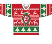 Reading Royals Ugly Christmas Sweater Jersey 2013
