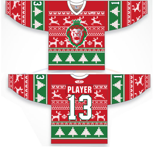 A Royally Ugly Christmas Sweater Jersey | Chris Creamer's