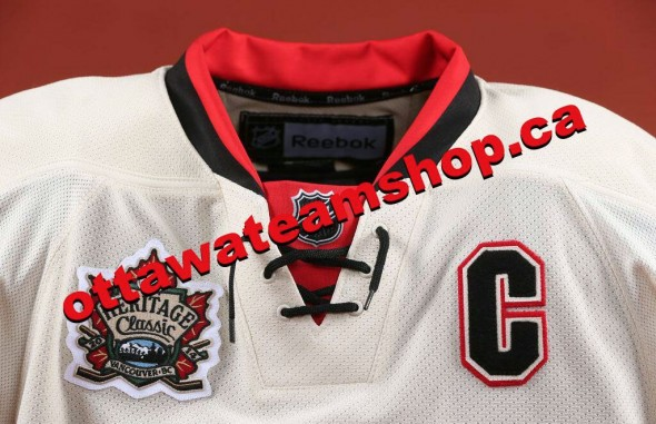 wholesale dealer 553e6 42877 Ottawa Senators Tease 2014 Heritage Classic Jersey | Chris ...