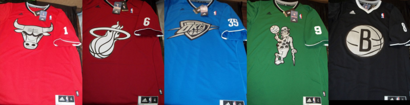 NBA Teams Will Wear Sleeved Jerseys on Christmas Day