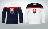 Slovakia 2014 Winter Olympic Hockey Jerseys