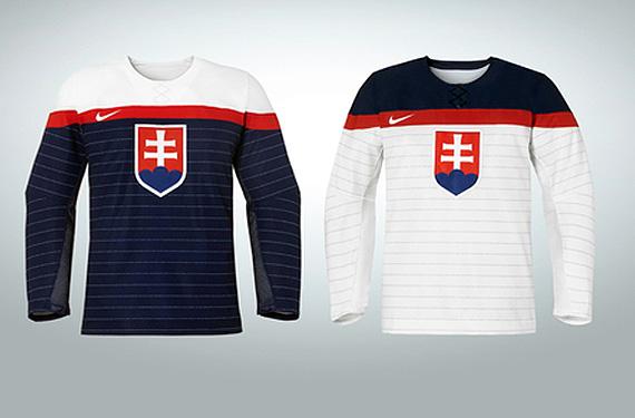 Slovakia Unveils Jerseys with National Anthem Pinstripes