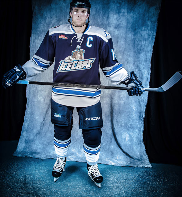 St Johns IceCaps New Alternate Uniform 2013-14