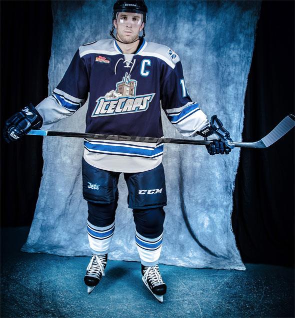 St Johns IceCaps New Alternate Uniform 2013-14