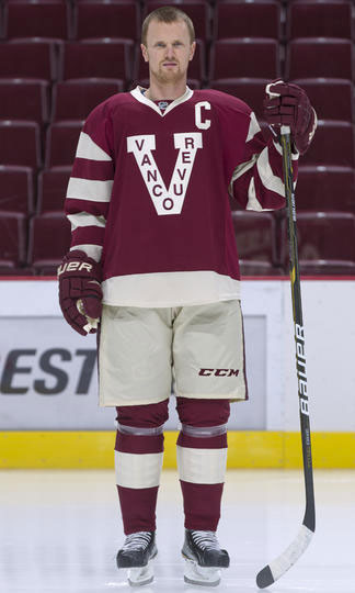 Vancouver Millionaires jersey from 2012/13. Same design for 2014 Heritage Classic