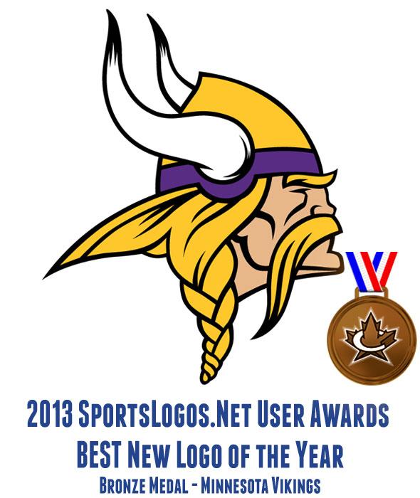 2013 Best Logo BRONZE - Minnesota Vikings