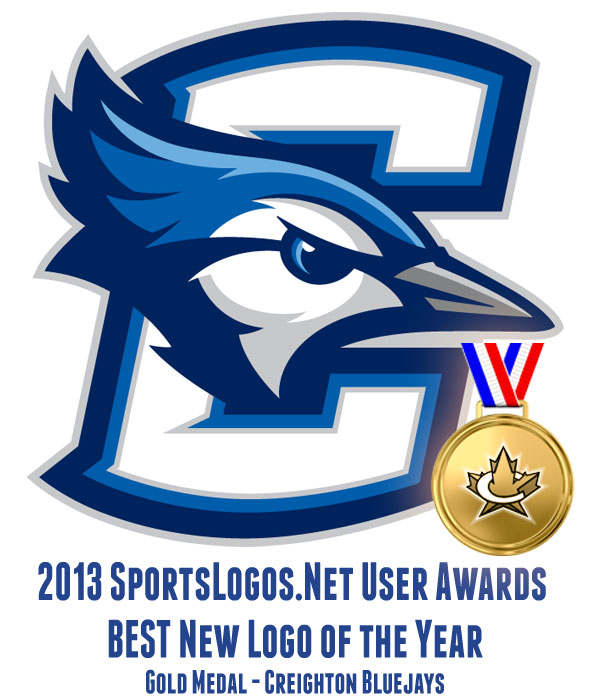 2013 Best Logo GOLD - Creighton Bluejays