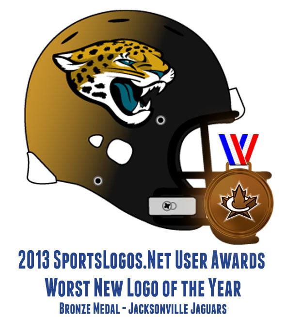 2013 Worst Logo BRONZE - Jacksonville Jaguars