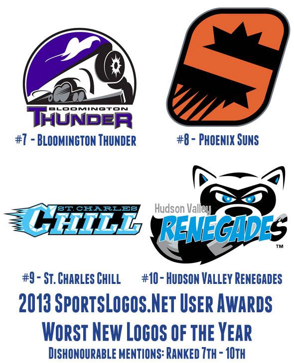 2013 Worst Logos 7-10