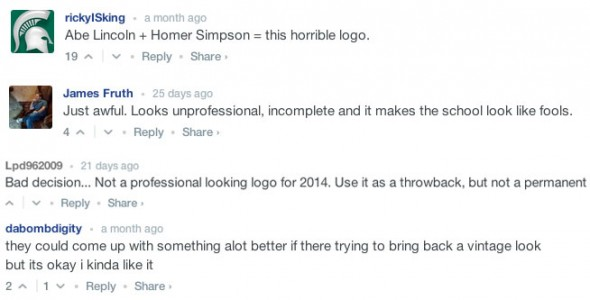 Appalachian State Logo Comments