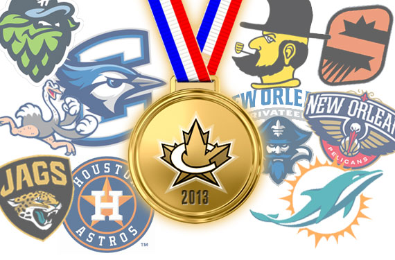The 2013 SportsLogos.Net Best and Worst New Logos Awards