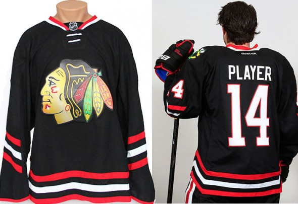 Blackhawks Stadium Series Jersey 2
