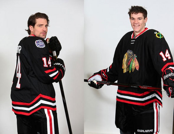 Blackhawks Stadium Series Jersey
