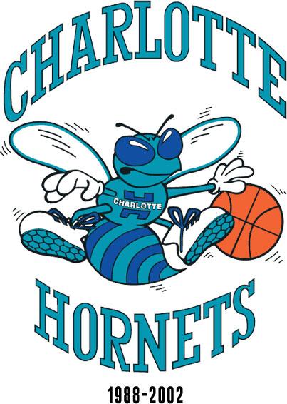 Charlotte Hornets Primary Logo 1988-2002
