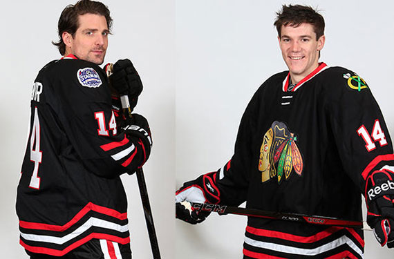 Chicago Blackhawks 2014 Stadium Series Uniform