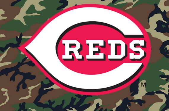 Cincinnati Reds Camouflage