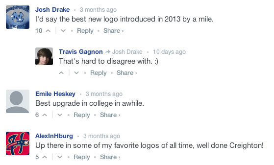 Creighton Bluejays Logo Comments