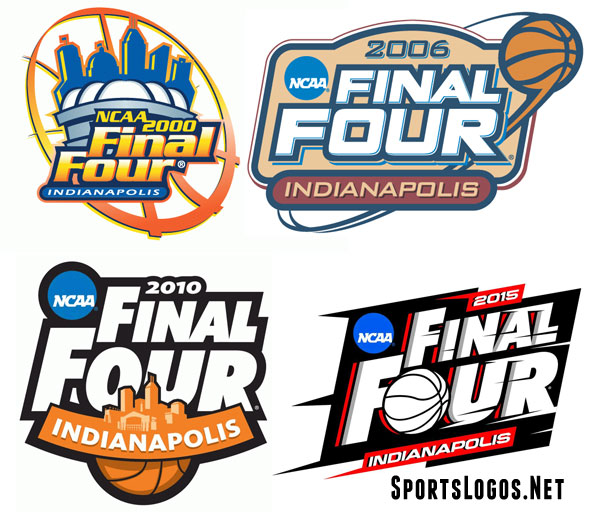 Indianapolis Final Four Logos 2000 2015