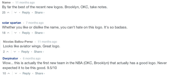 New Orleans Pelicans Logo Comments