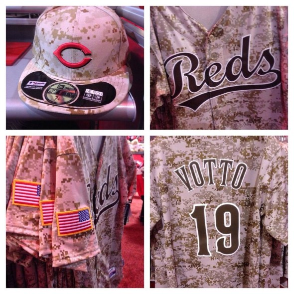 New Reds Camo Jersey and Cap