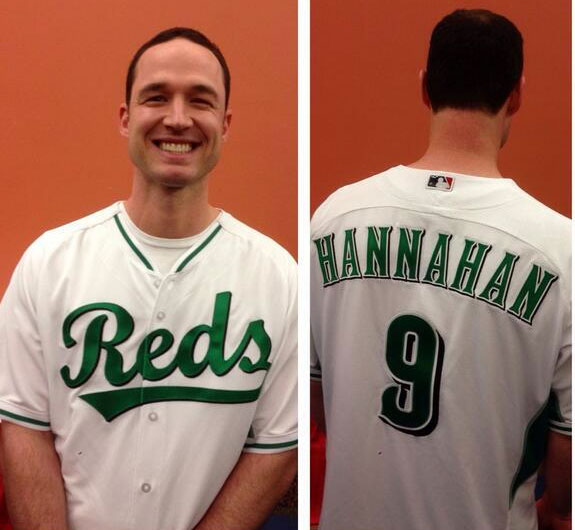 New Reds St Patricks Day Jersey