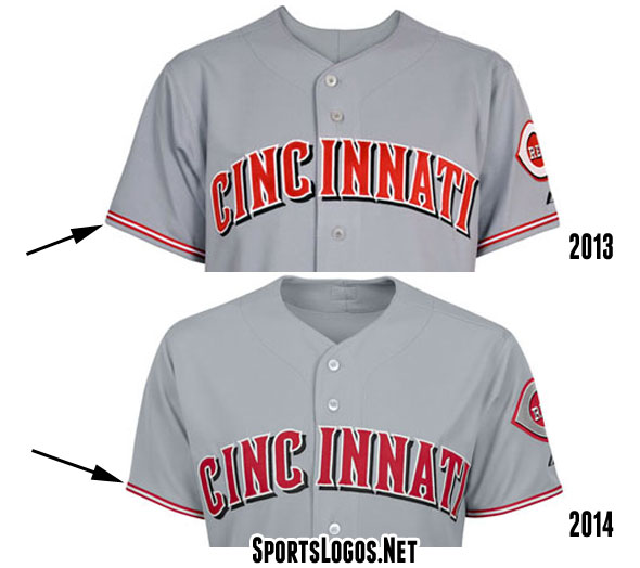 Reds Road Jersey Change