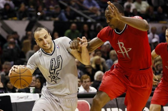 San Antonio Spurs Houston Rockets Sleeved Christmas Jerseys 2013