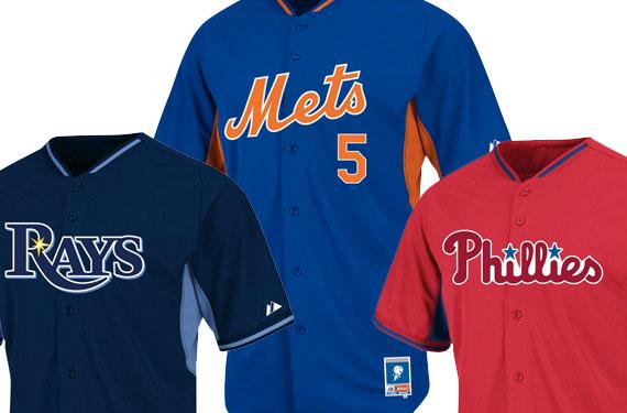 Majestic Unveils Ten New 2014 MLB B.P. Jerseys