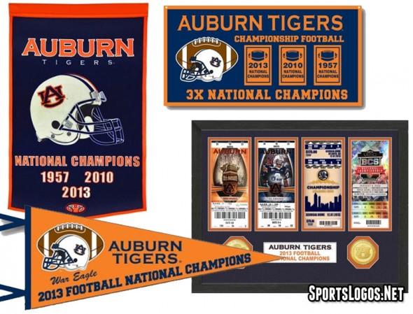 Auburn Tigers 2013 Natl Champs Phantom Merch 3