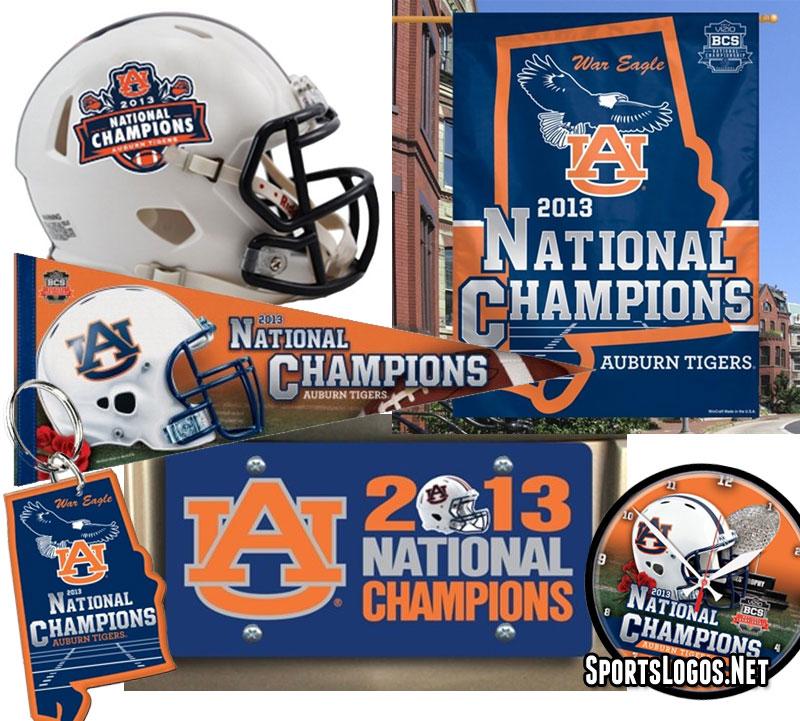 Auburn Tigers 2013 National Champs Phantom Merchandise
