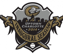 Charlotte Knights New Stadium Inaugural Season Logo 2014
