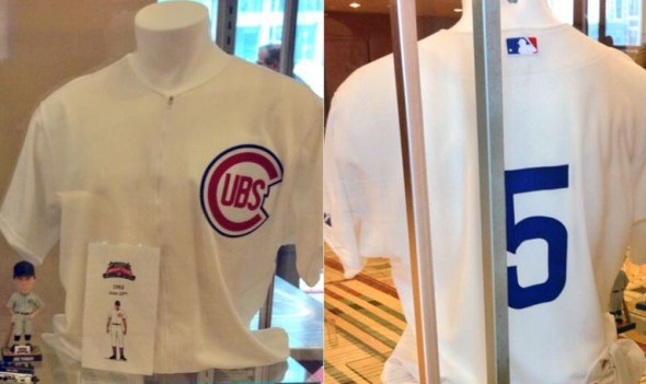 Chicago Cubs 1953 Throwback Jersey - 2014