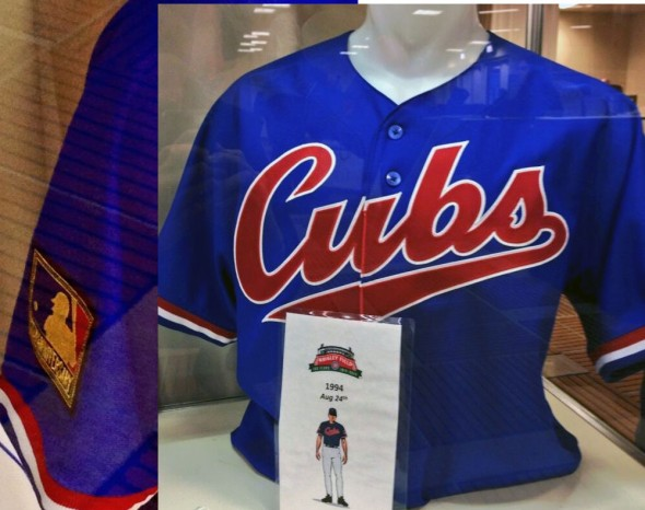 Chicago Cubs 1994 Throwback Jersey - 2014