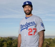 LA Dodgers New Road Alternate Jersey 2014
