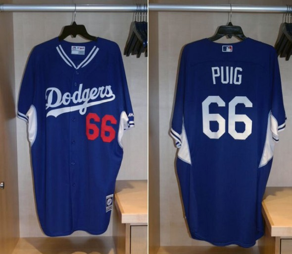 Los Angeles Dodgers 2014 MLB BP Jersey