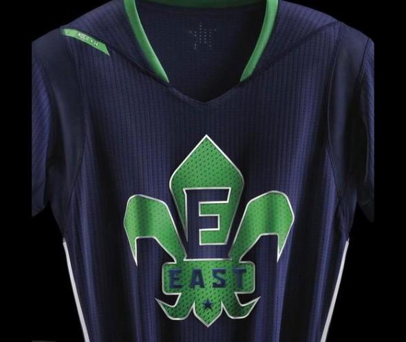 NBA East All Star Jersey 2014 Detail