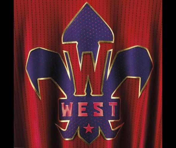 NBA West All-Star Logo 2014